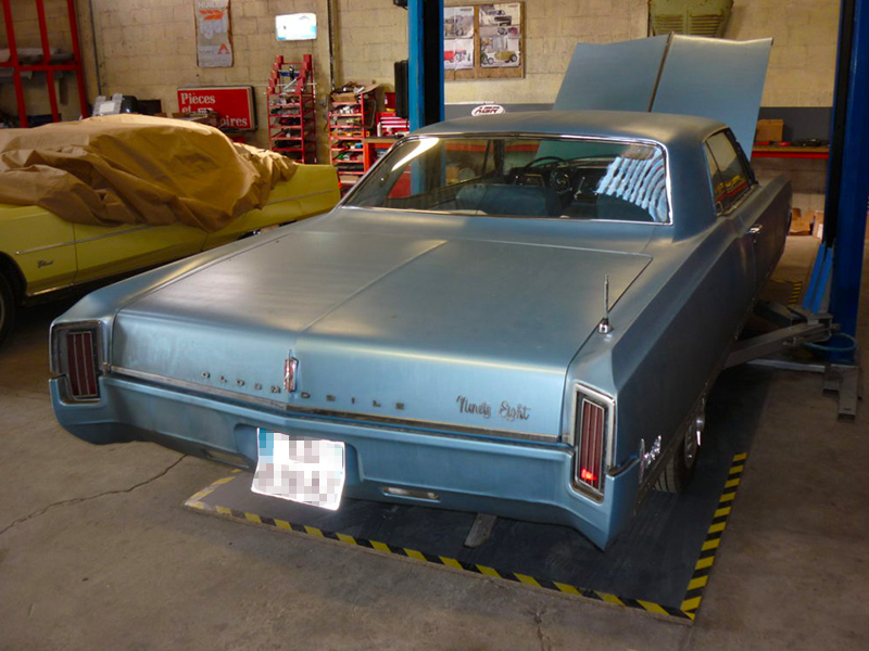 Atelier AMC Vehicule Americain Us 3 4