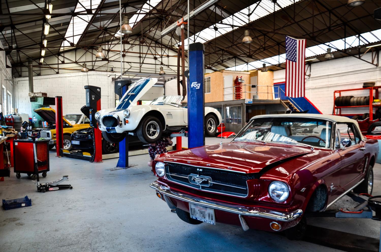 Atelier AMC Vehicule Americain Us J